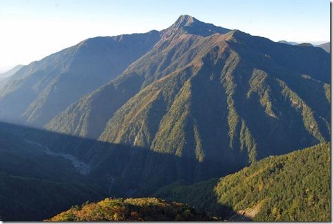 【第5山】北岳 3,193m「控えめな№2」