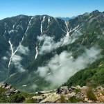 【第53山】針ノ木岳2820m、蓮華岳2788m「針ノ木峠を巡る山々」