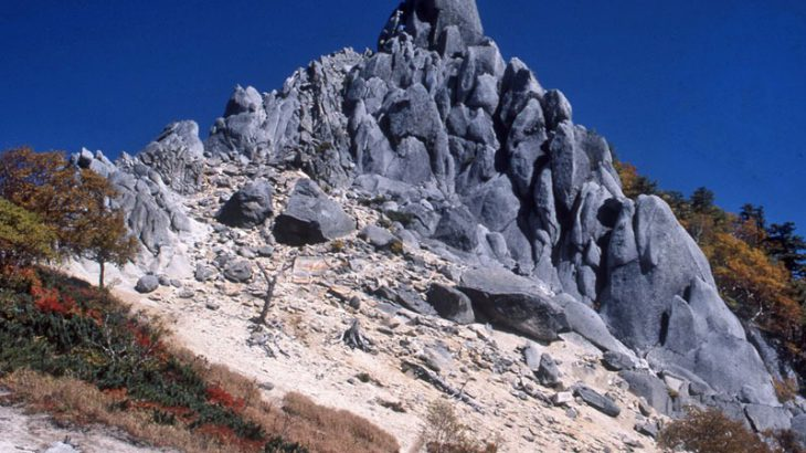【第115山】鳳凰山地蔵岳 約2764m「初登頂は外国人」