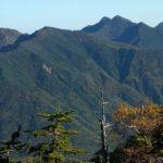 【第116山】笊ヶ岳 約2629m「奇妙な漢字で迫る山」