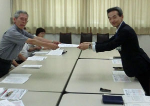 「市民のいのち・暮らし・営業を守れ」横浜市民団体連絡会と横浜市民要求実現実行委員会 生活向上求め要求書提出