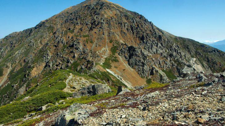【第158山】悪沢岳3,141メートル(静岡県)ちょいワルな3000m峰