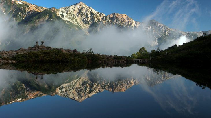 【188山】八方池2,086メートル(長野県)奇跡の倍増し3分間