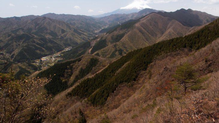 【第197山】赤鞍ヶ岳1299メートル(山梨県) ダブル山名は水の守護神