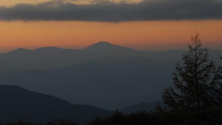 【第199山】恵那山2191メートル(長野県・岐阜県)牛後に甘んじた山